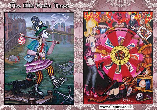 Ella Guru Art » Tarot decks for sale
