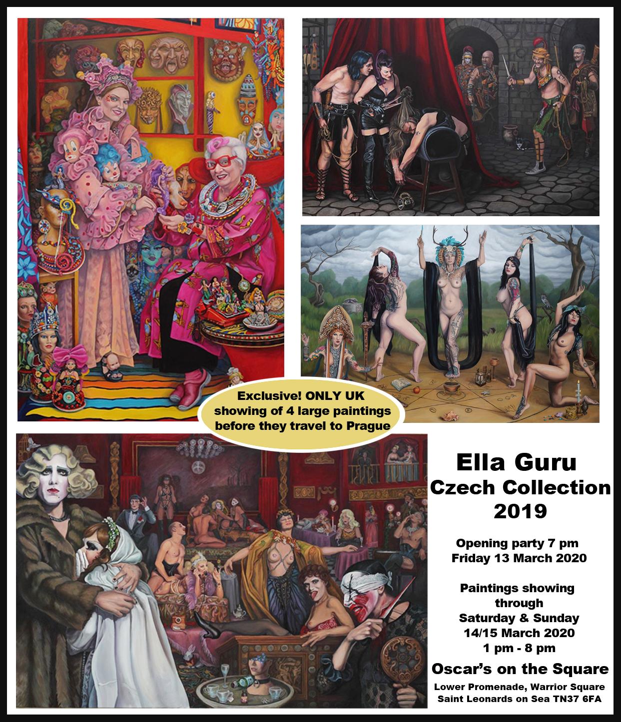 Oscars show Ella Guru