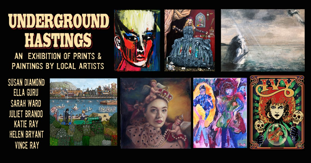 Underground Hastings Art Show