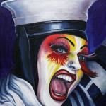 In the Navy OIl on canvas by Ella Guru