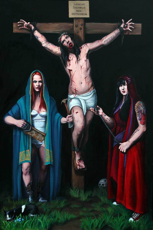 Backyard Crucifixion