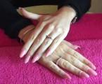 Manicure raffle prize for Fibromyalgia event
